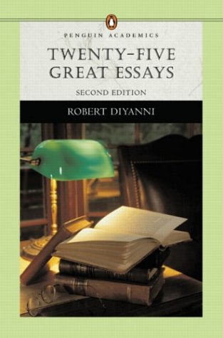 50 great essays penguin Fifty great essays penguin academics series by robert diyanni available in trade paperback on powellscom, also read synopsis and.