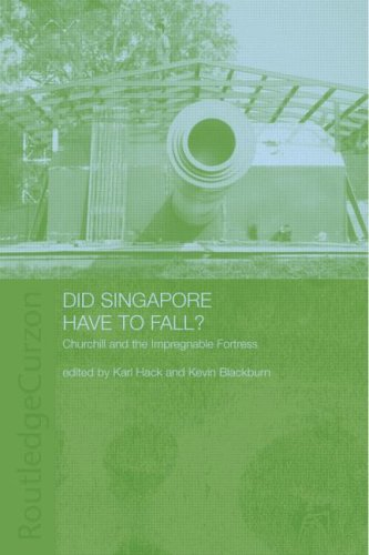 Did Singapore Have to Fall?: Churchill and the Impregnable Fortress