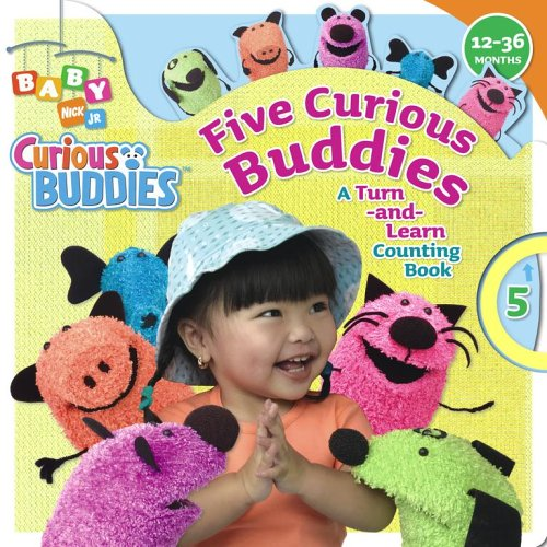Five Curious Buddies: A Turn-And-Learn Counting Book Wendy Wax