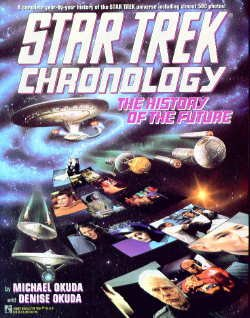Star Trek Chronology by Michael Okuda