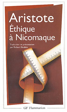 Ethique à Nicomaque by Aristotle