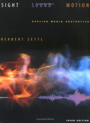 Sight, Sound, Motion by Herbert Zettl