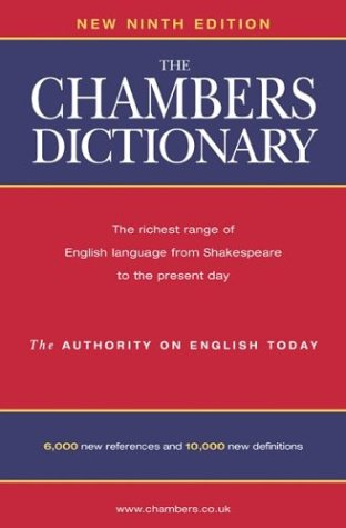 Chambers Dictionary by Chambers
