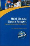 Multi-Lingual Phrase Passport (Let's Eat Out! Your Passport to Living Gluten and Allergy Free) (Let's Eat Out!)