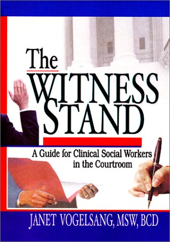 Witness Stand by Janet Vogelsang