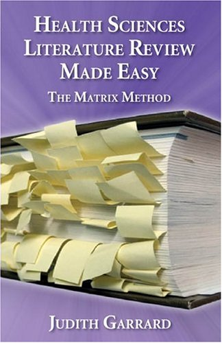 literature review matrix method The matrix method of literature reviews goldman kd(1), schmalz kj author information: (1)personnel department, city of new york, ny, usa pmid: 14965430 [indexed for medline].