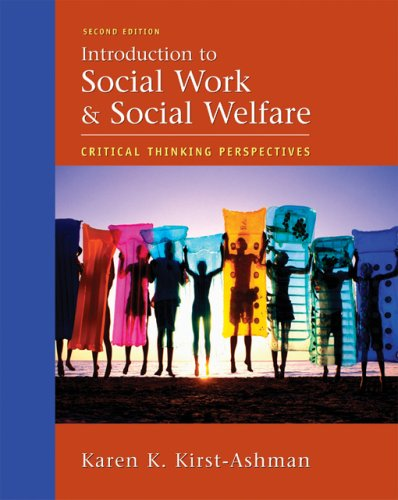 critical thinking for social workers Social workers, in its second edition, is geared toward informing and persuading   social workers have always used empathy, engagement, and critical think.