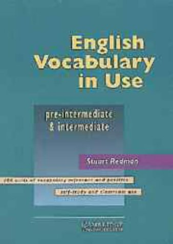 English Vocabulary in Use Pre-Intermediate and Intermediate w... by Stuart Redman