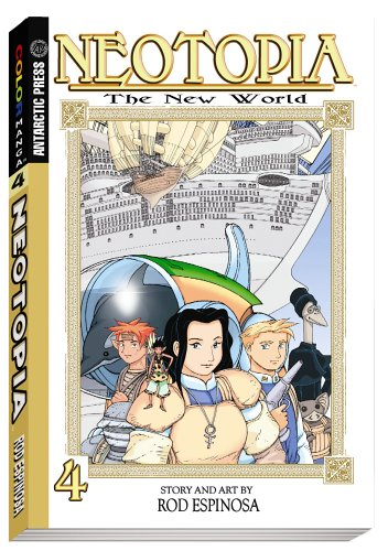 Neotopia Color Manga Volume 4 by Rod Espinosa