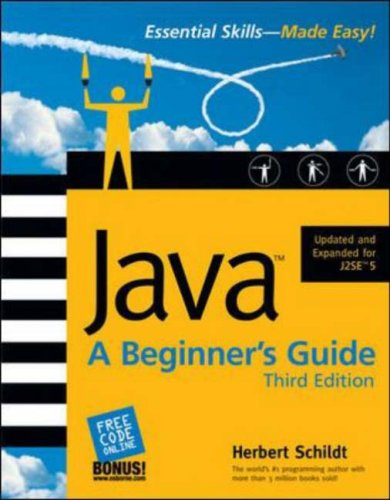 Java: A Beginner's Guide by Herbert Schildt — Reviews