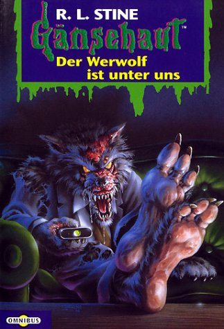 werewolf in the living room goosebumps i live in your basement