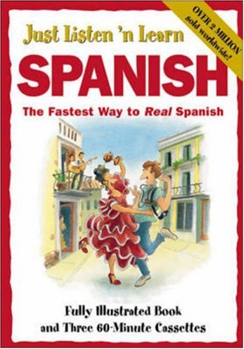 Just Listen 'n Learn Spanish [With Paperback] by Listen 'N' Learn