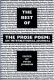 The Best of the Prose Poem: An International Journal