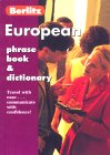European Phrase Book & Dictionary (Berlitz Phrase Books)