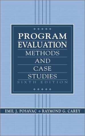 Program Evaluation by Emil J. Posavac