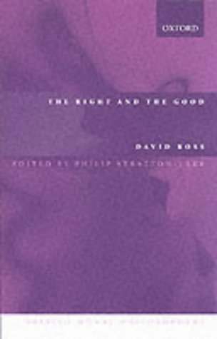 The Right and the Good by William David Ross