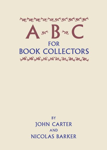 ABC for Book Collectors by John Carter