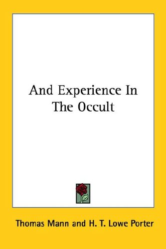 An Experience in the Occult