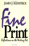 Fine Print: Reflections On The Writing Art