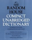 Random House Compact Unabridged Dictionary: Book Only