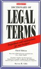 Dictionary of Legal Terms Dictionary of Legal Terms