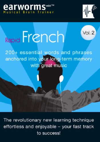 Earworms Rapid French, Volume 2 by Marlon Lodge