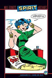 The Spirit Archives, Vol. 14 by Will Eisner