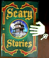 Scary Stories (Hardcover with creepy hand lock and key)