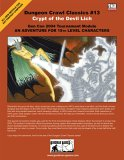 Dungeon Crawl Classics #13: Crypt of the Devil Lich