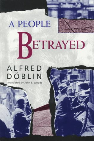 A People Betrayed by Alfred Döblin