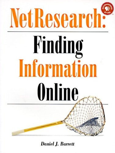 NetResearch: Finding Information Online: Finding Information Online
