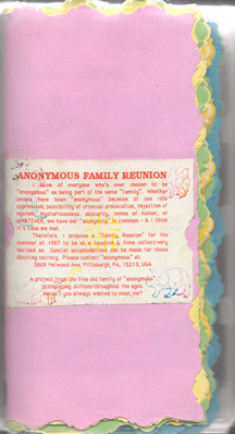 Anonymous Family Reunion by Anonymous