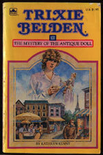 Trixie Belden and the Mystery of the Antique Doll (Trixie Belden, #36)