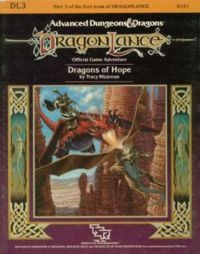 Dragons of Hope (Dragonlance Module DL 3) (Advanced Dungeons & Dragons)