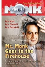 Mr. Monk Goes To Firehouse by Lee Goldberg