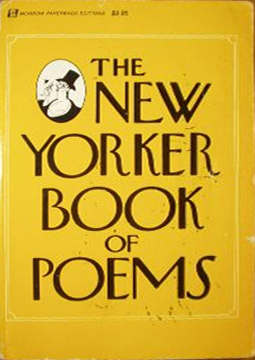 The New Yorker Book of Poems by The New Yorker