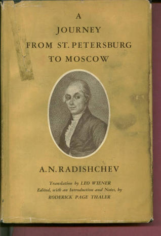 books about journey from petersburg moscow