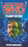 Doctor Who: Planet of Fire (Target Doctor Who Library, No. 93)