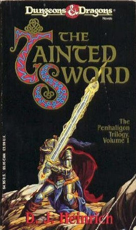 The Tainted Sword by D. J. Heinrich