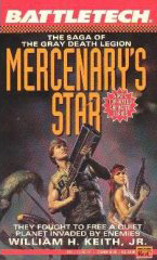 Mercenary's Star by William H. Keith Jr.