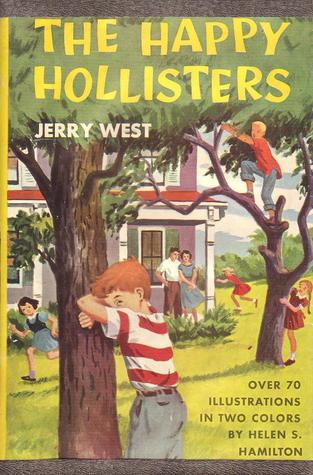 The HAPPY HOLLISTERS, first book in the series, dust jacket, 1953