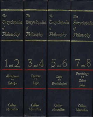 Encyclopedia of Philosophy, 4 Vol. Set