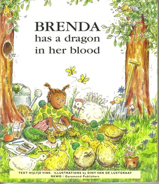 Brenda has a dragon in her blood by Hijltje Vink