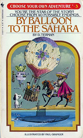 By Balloon to the Sahara by Douglas Terman