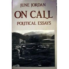 June Jordan political essays