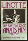 Linotte the Early Diary of Anaïs in 1914-1920