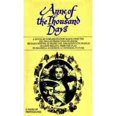 Anne of a Thousand Days by Edward Fenton