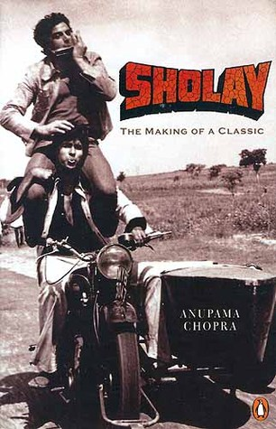 making of sholay book review