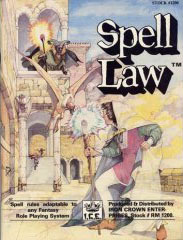 Spell Law by Iron Crown Enterprises