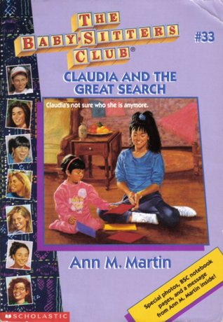Claudia and the Great Search by Ann M. Martin